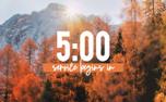 Fall Countdown (90700)