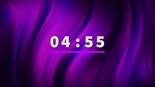 Dark Purple Countdown