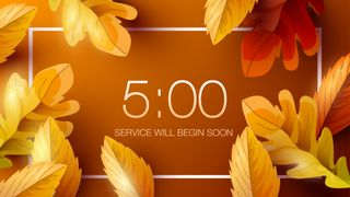Orange Fall Countdown