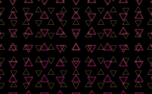 Triangles Motion Background (90851)
