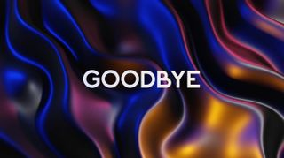 Metallic Waves Goodbye