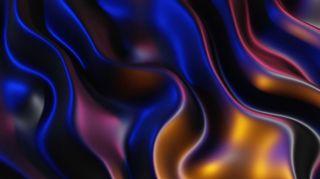 Metallic Waves Motion Loop