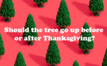 Christmas Tree Question (90970)