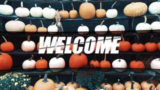 Pumpkin Patch Welcome