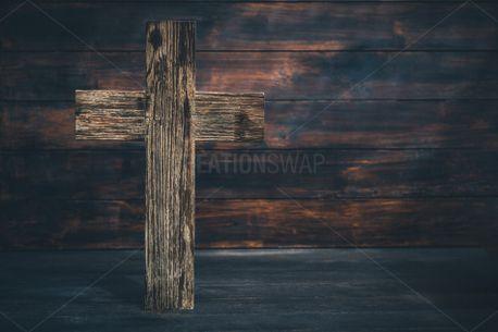 Wooden Cross  (91155)