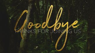 ForestGold_Goodbye