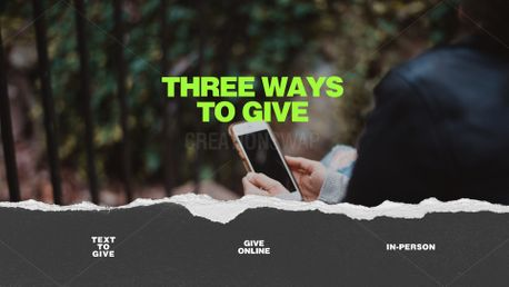 3 ways to give (91227)