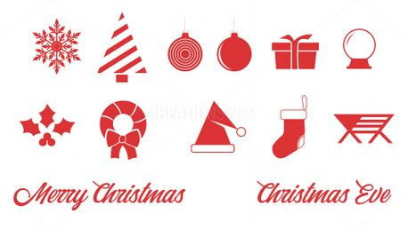 Christmas Icon Set (91239)