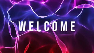 flowing nebula welcome