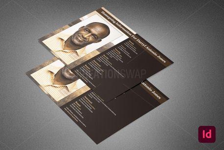 Homegoing Funeral Info Sheet (91467)
