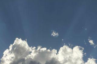 Cloud and Sun Rays