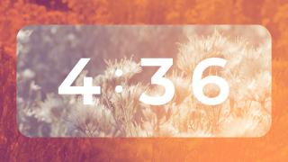 Sage Orange : Countdown