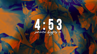 Fall Leaves Countdown
