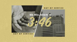 Day Of Service Countdown