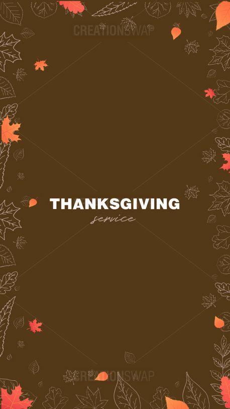 Thanksgiving Service (91652)
