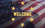 Waving Flag Welcome (91761)