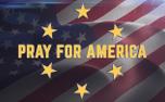 Waving Flag Pray for America (91765)