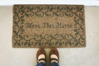Bless This Home Mat