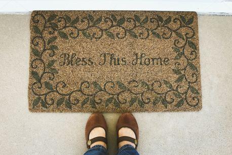 Bless This Home Mat (92065)