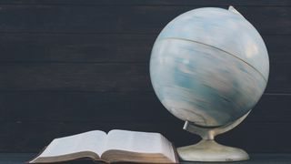 Spinning World Globe