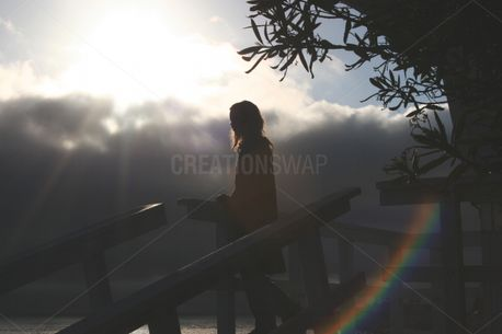 Woman Silhouette (92250)