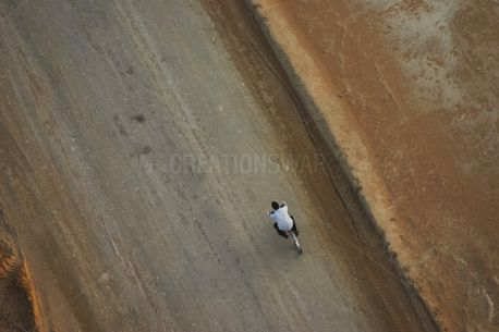 Man On Bicycle (92355)