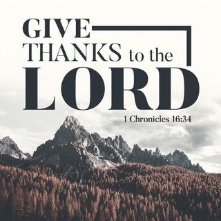 Give Thanks To The Lord Pack