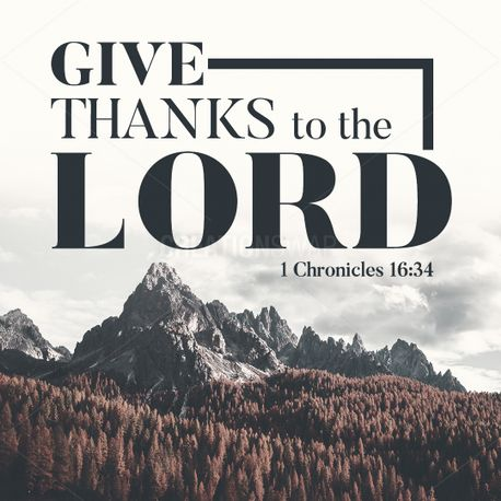 Give Thanks To The Lord Pack (92510)