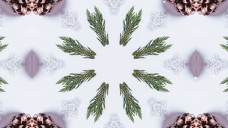 Christmas Kaleida Background