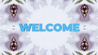 Christmas Kaleida Welcome