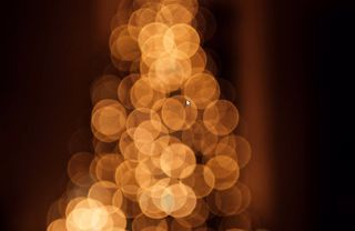Christmas holiday bokeh