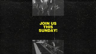 Join us this Sunday