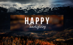Thanksgiving Motion Title (92722)