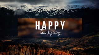 Thanksgiving Motion Title