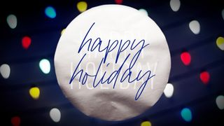 MultiLights : Happy Holiday