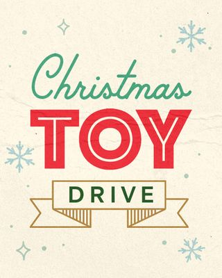 Christmas Toy Drive Social