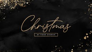 Christmas Black Gold