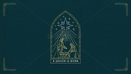 A SAVIOR IS BORN (92789)
