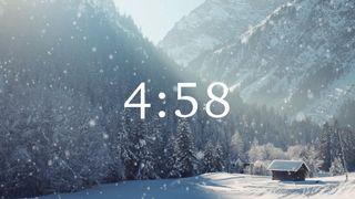 Snow Cabin Countdown