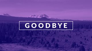 Purple Mountain Goodbye