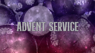 Ornamental Advent Service
