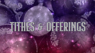 Ornamental Tithes & Offerings