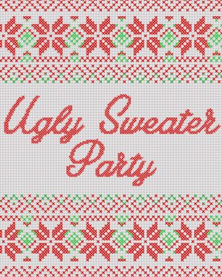Ugly Sweater Party Social