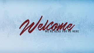 Winter Welcome Motion Slide