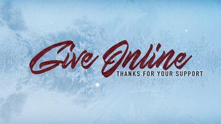 Winter Online Giving Slide