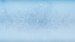 Blank Winter Motion Background
