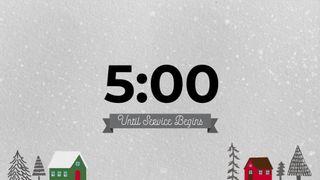 Countdown Christmas Snow