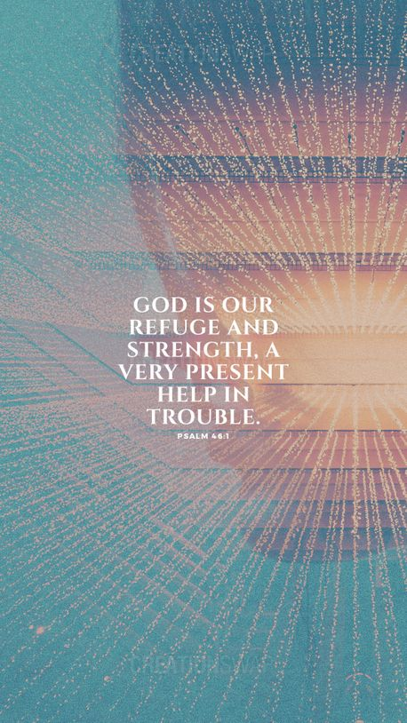 Psalm 46:1 (93599)