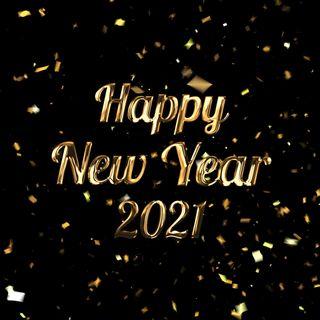 Happy New Year 2021 Social