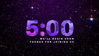 Glittery Sparkle Countdown